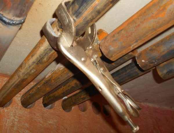Ручной гидравлический трубогиб окоф