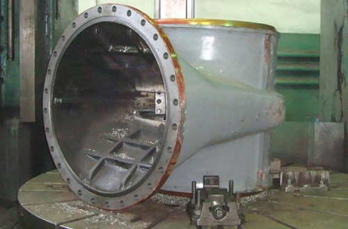 Уплотнительные поверхности корпуса запорной арматуры