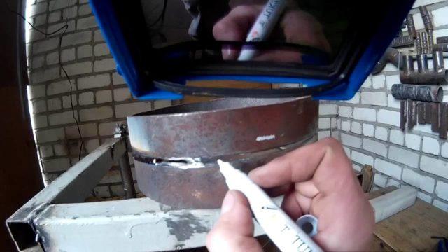Технологическое окно при сварке труб