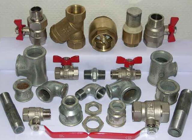 Виды запорной арматуры для систем отопления