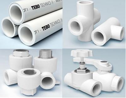 Технология монтажа полипропиленовых труб большого диаметра