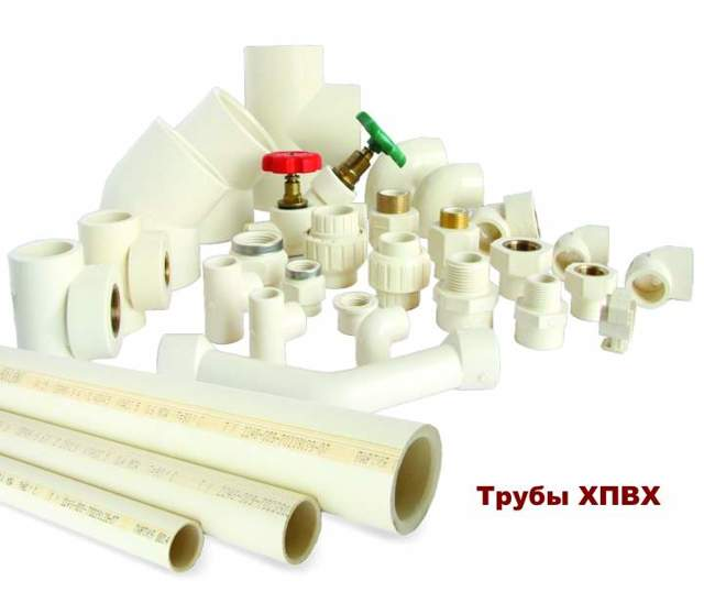 Система водоснабжения пластиковыми трубами