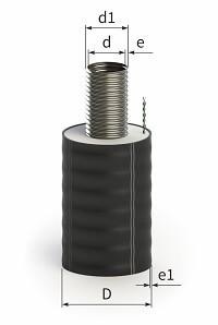 Фитинг касафлекс под сварку диаметром 55 мм
