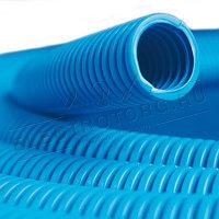 Синяя пнд труба для кабеля