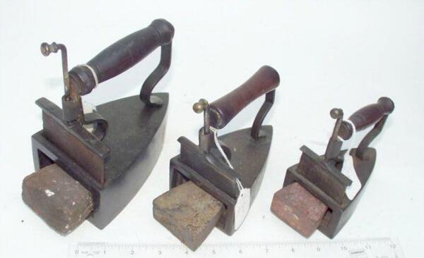 Утюг с трубой 19 век