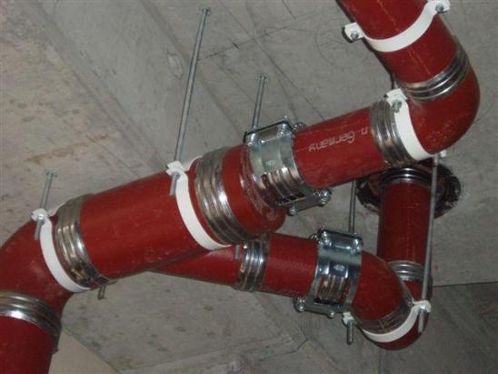 Технология прокладки чугунных труб