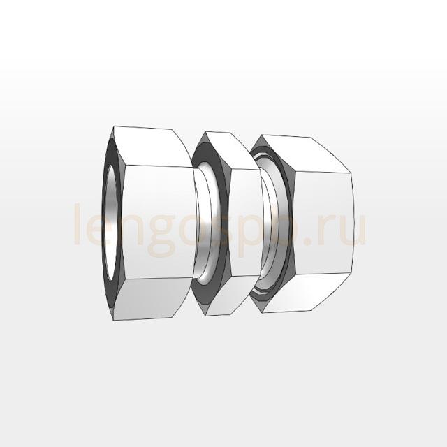 Din фитинги с одним врезным кольцом