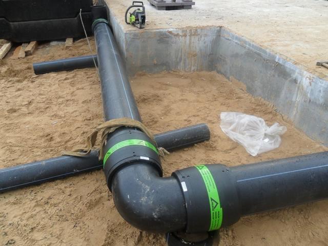 Технология ремонта участка трубопровода