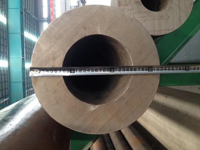 Участок измерения длины трубы