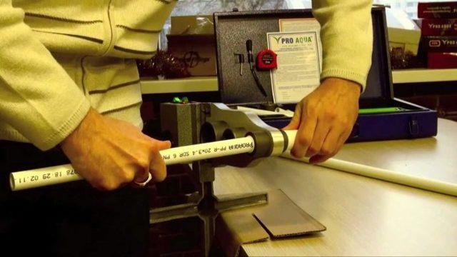 Технология сварки пвх труб электропаяльником
