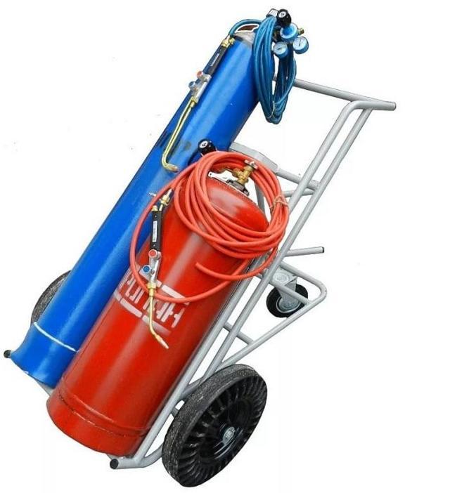 Технология работ по газовой сварки труб