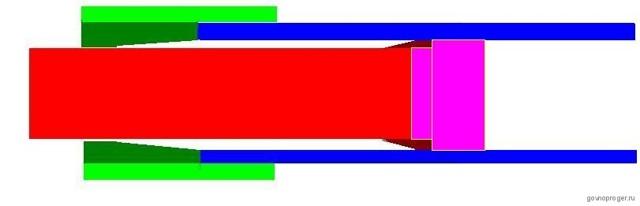 Складной механизм для трубы