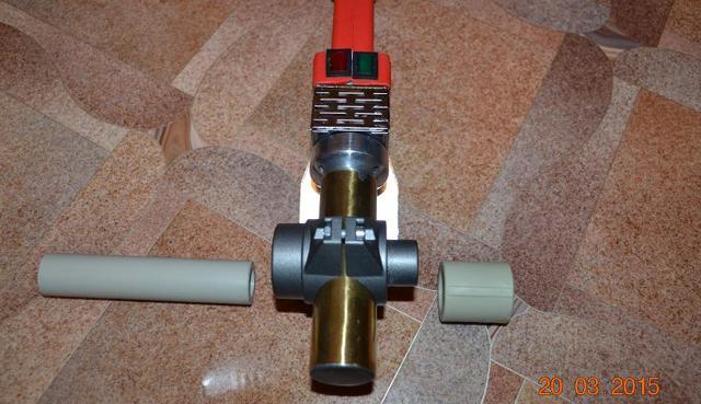 Утюг для пайки пластиковых труб астана