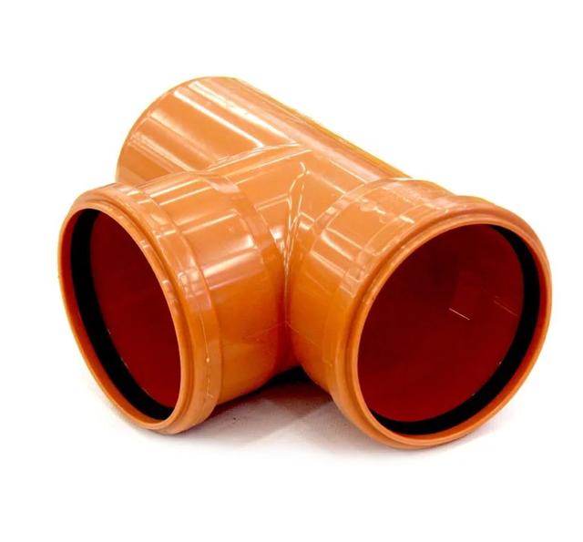 Тройник канализационной трубы 110мм