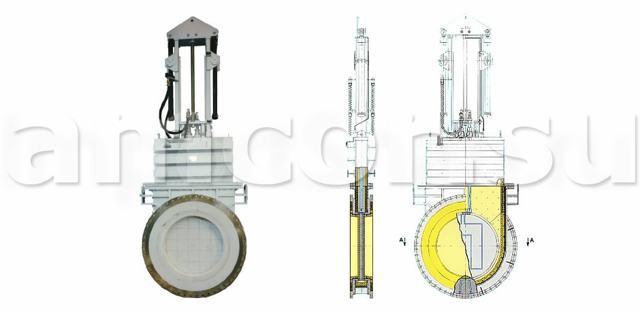 Высокотемпературная запорная арматура до 1000 с