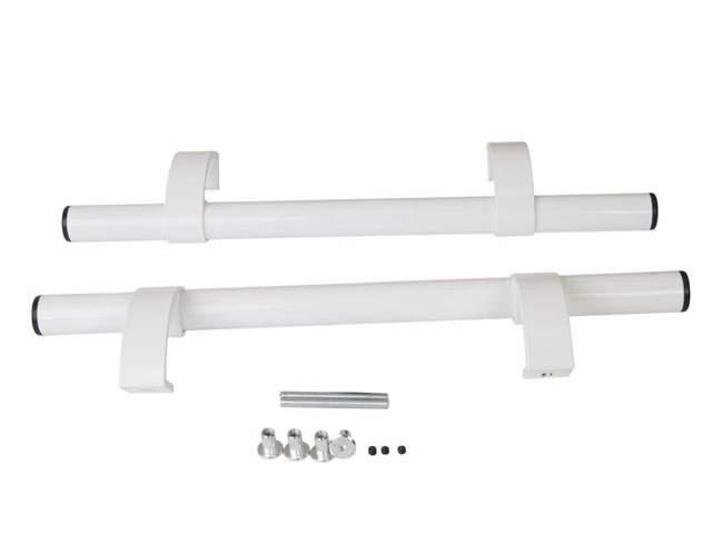 Ручка труба офисная прямая 500мм с регулируемыми креплениями
