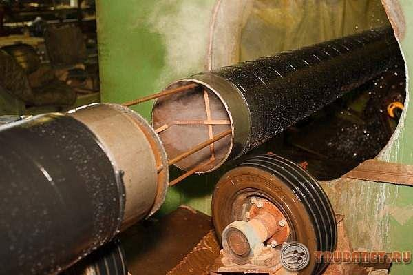 Технология нанесения весьма усиленной изоляции трубопроводов