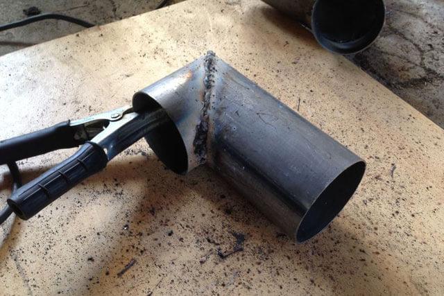 Технология дуговой сварки поворотных стыков труб