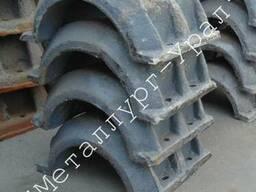 Утяжелители железобетонные сборные кольцевые типа утк для магистральных трубопроводов