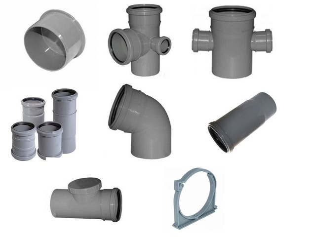 Фитинги канализации с раструбом