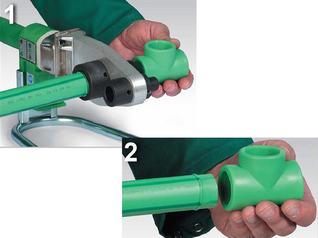 Технология сварки труб для отопления