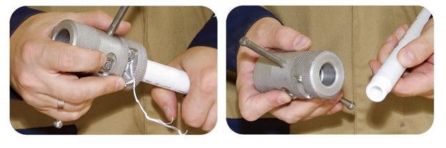 Самодельная зачистка для полипропиленовых труб
