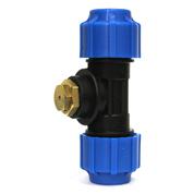 Автоматический сливной клапан debe g15 в комплекте с фитингами для пнд 32