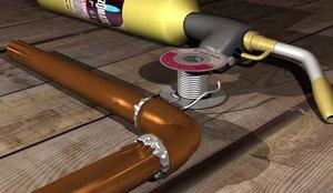 Технология пайки водопроводных труб