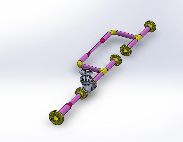 Технология изготовления узла трубопровода
