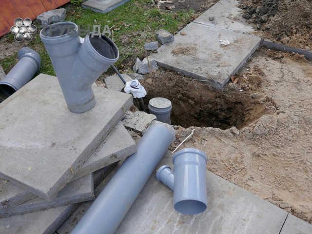 Технология монтажа канализационных труб