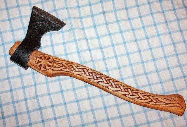 Ручка для колуна из трубы