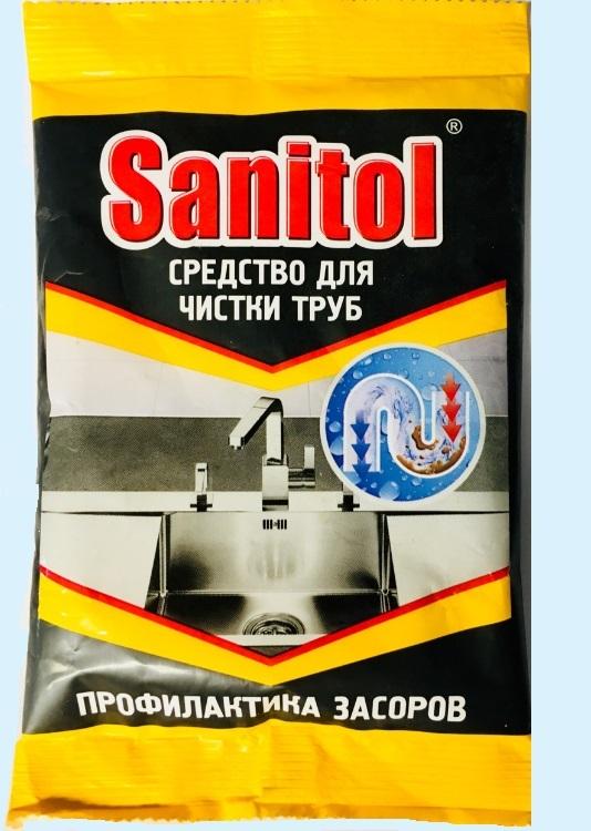 Санитол для чистки труб для каких труб